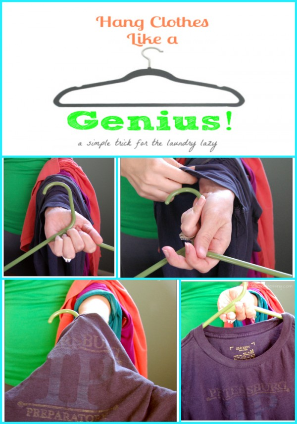 Hang clothes like a genius - Ask Anna