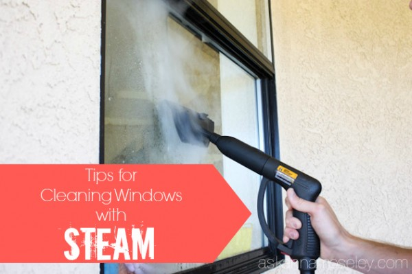 How to wash windows with steam- Ask Anna