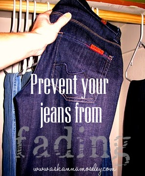 How to prevent jeans from fading - Ask Anna