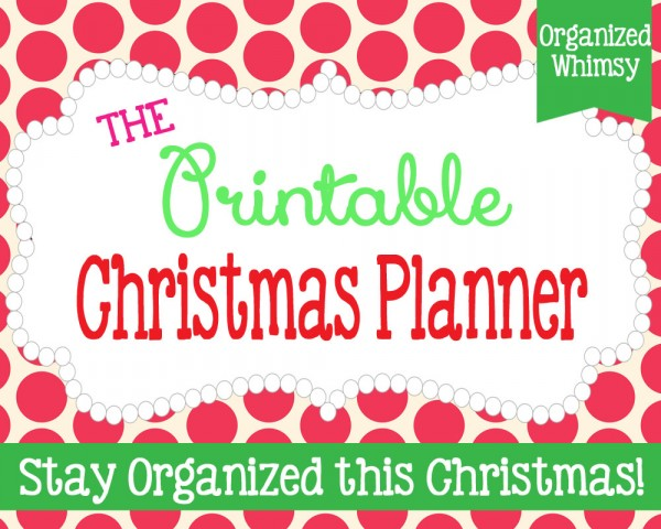 4 FREE printables to organize everything from your shopping to baking, this Christmas season   Ask Anna