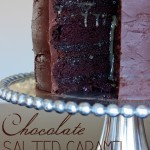 Chocolate salted caramel cake - Ask Anna