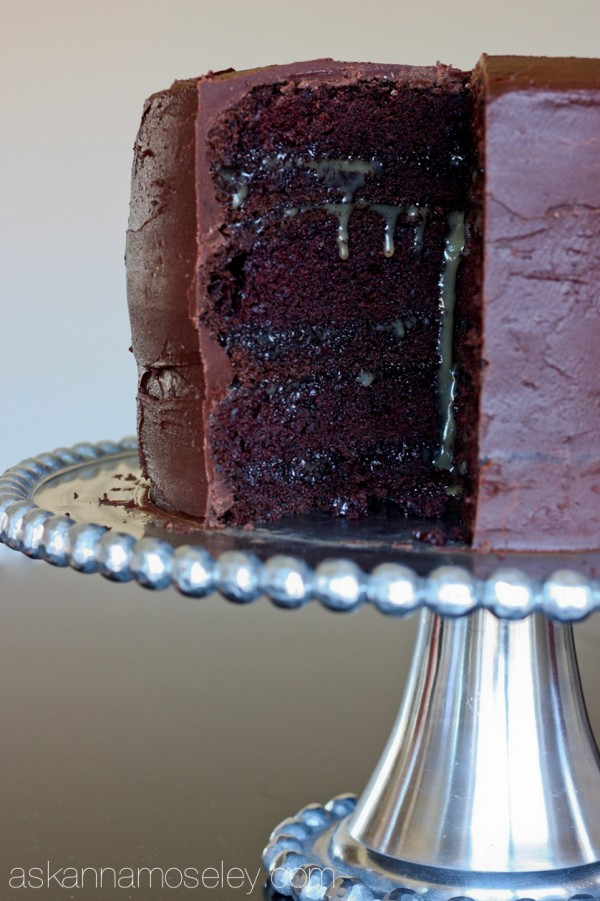 Chocolate salted caramel cake - Ask Anna