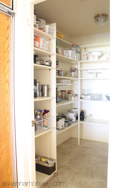 Pantry -before
