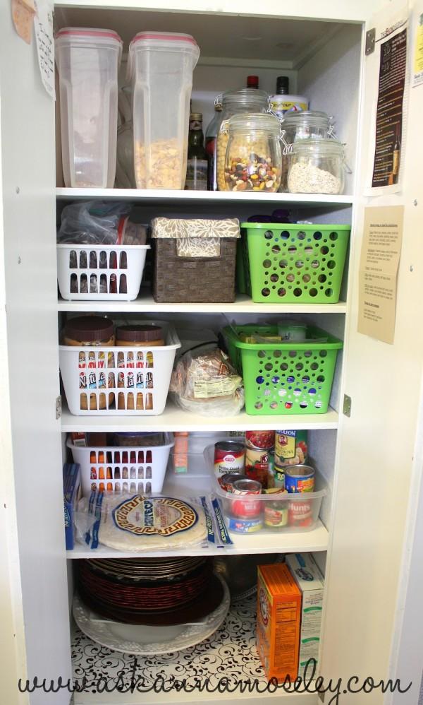 Organized pantry - Ask Anna