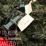 Christmas Decoration Organization - Ask Anna