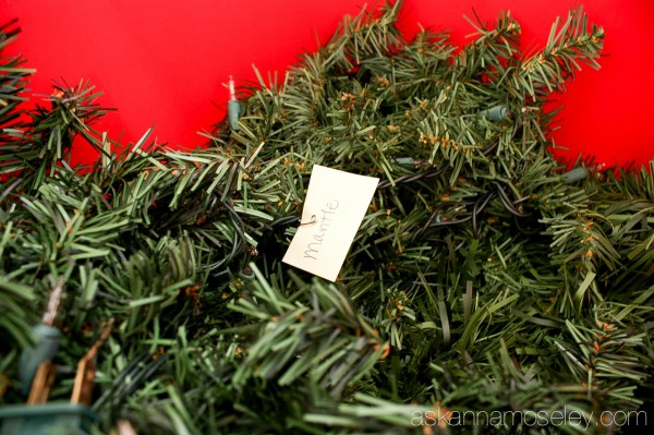 Christmas decoration organization - Ask Anna