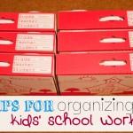 School work organization - Ask Anna