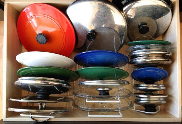 How to organize pot lids - Ask Anna