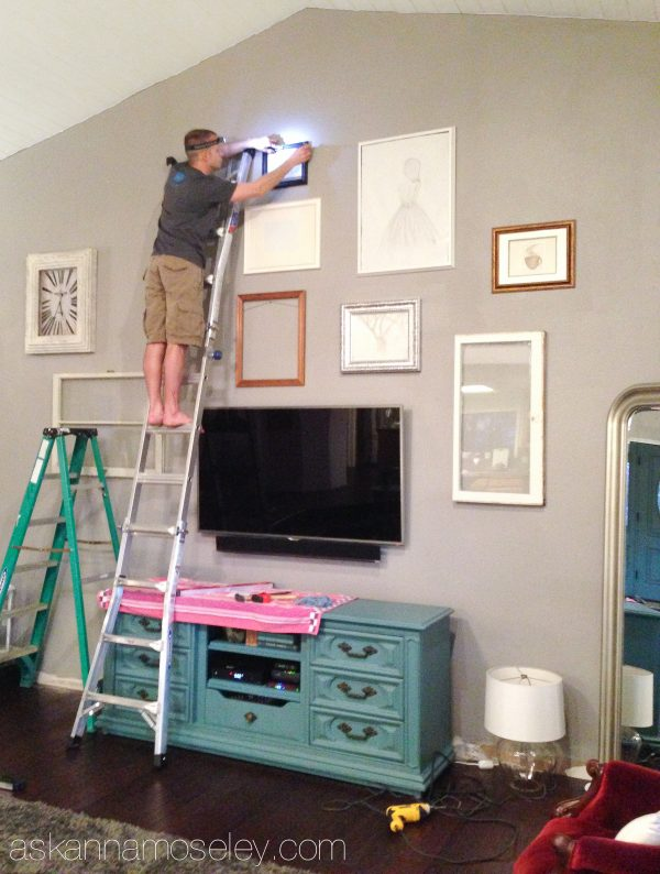 Haning a gallery wall  - Ask Anna