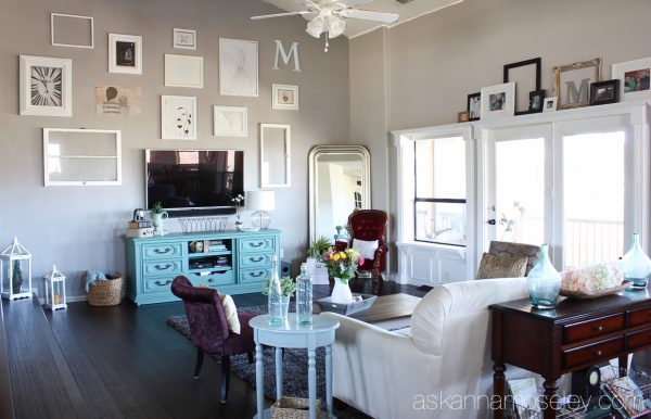 Partridge gray and Old Driftwood paint colors - Ask Anna
