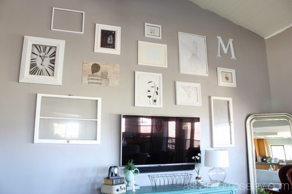 Living room gallery wall  - Ask Anna