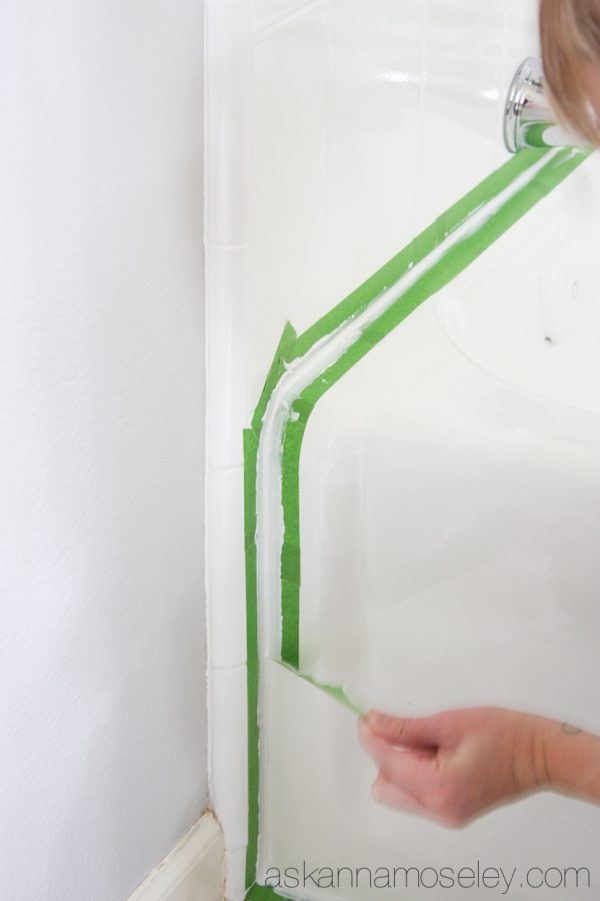 How to Caulk without Makeing a Mess - Ask Anna