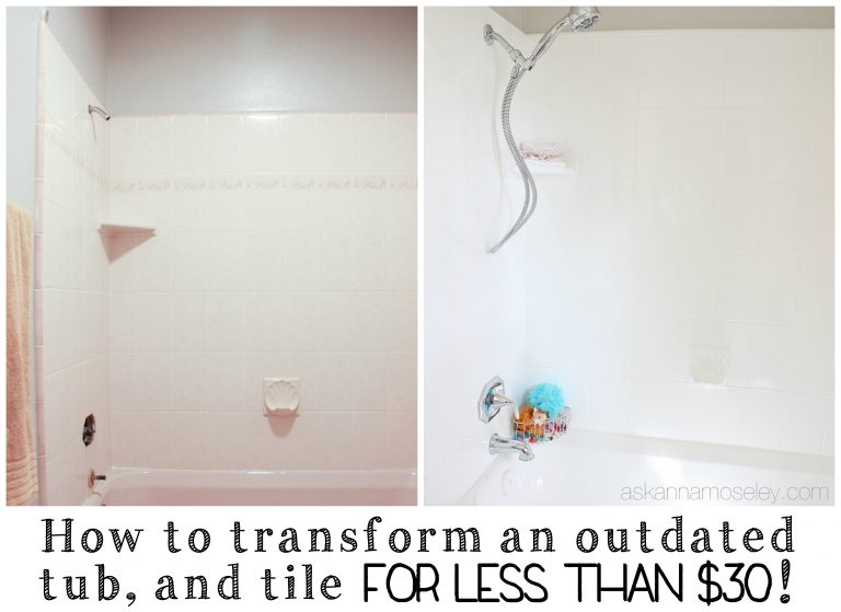 How to update an outdated tub | Ask Anna