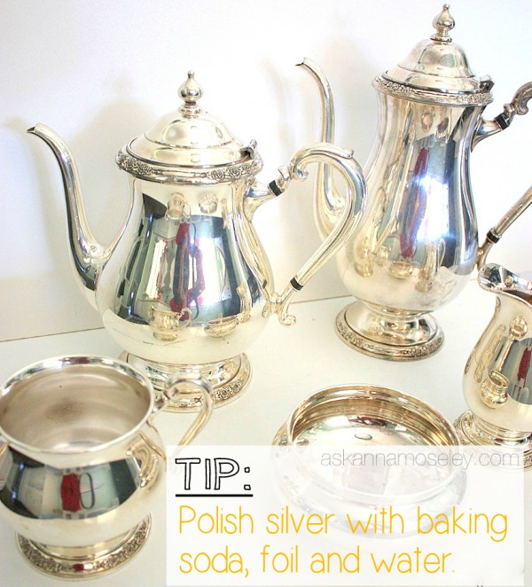 An easy trick for polishing silver - Ask Anna