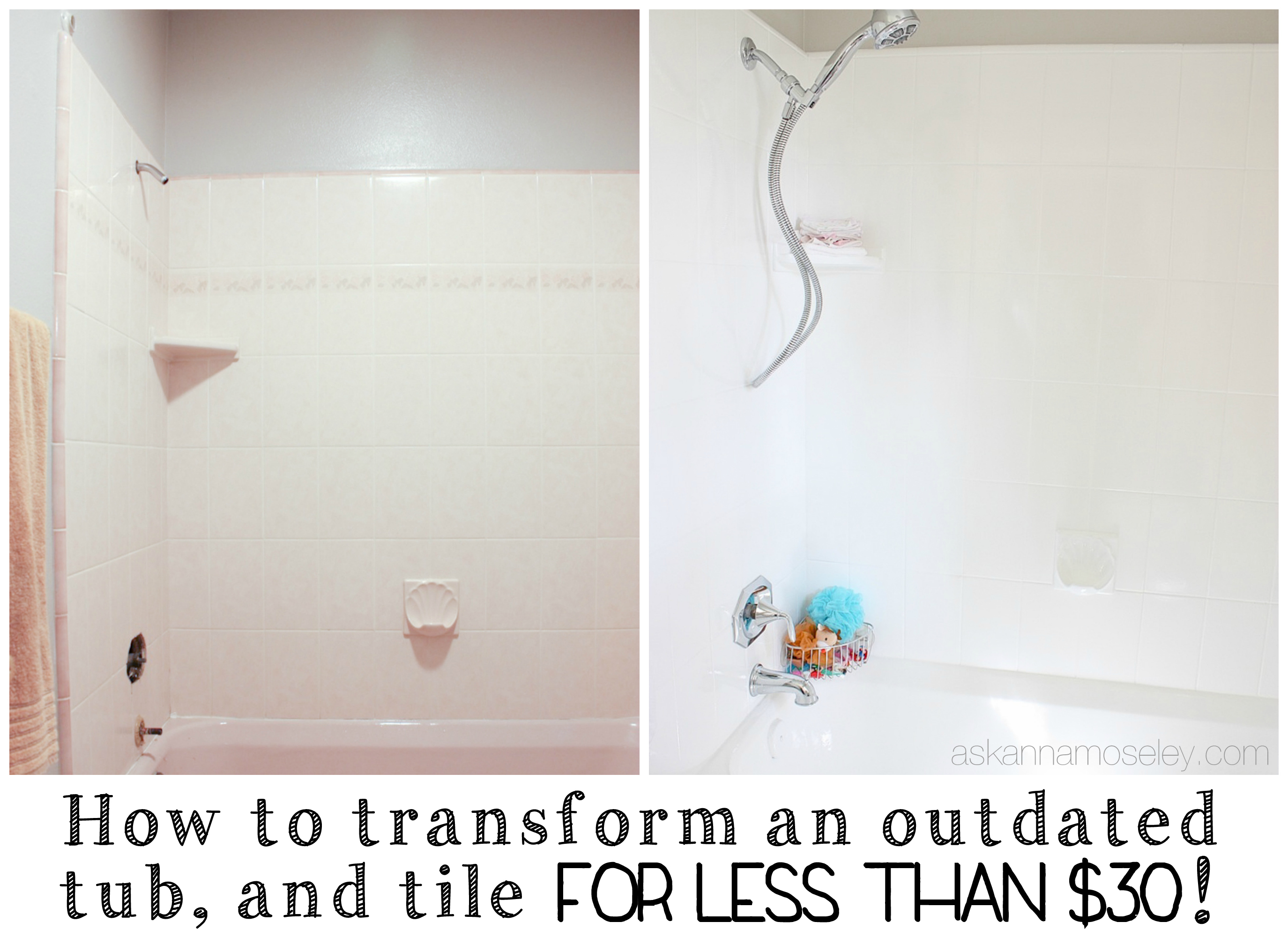 How to update an outdated tub, and tile - Ask Anna