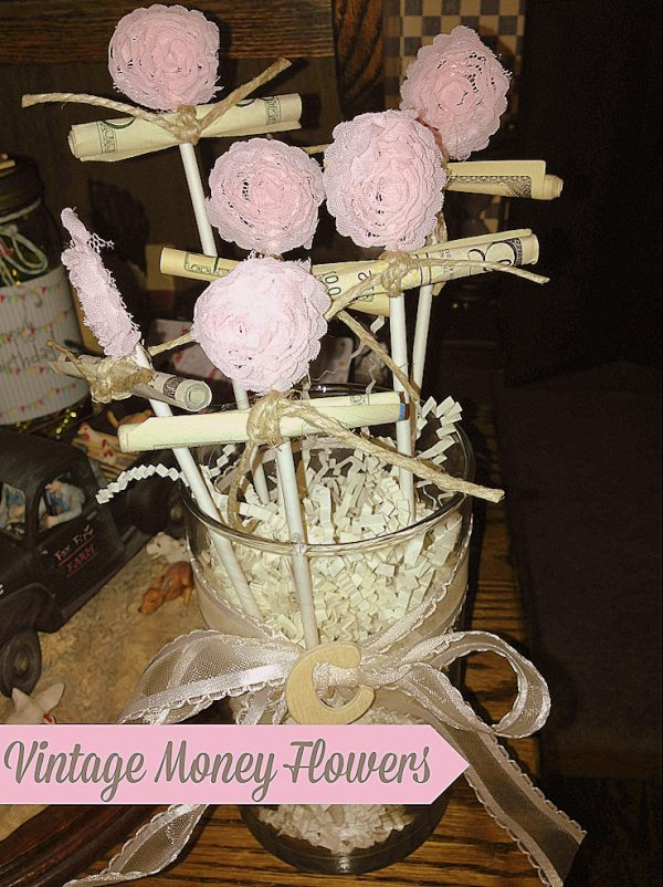 Vingate flower money gift idea - Ask Anna