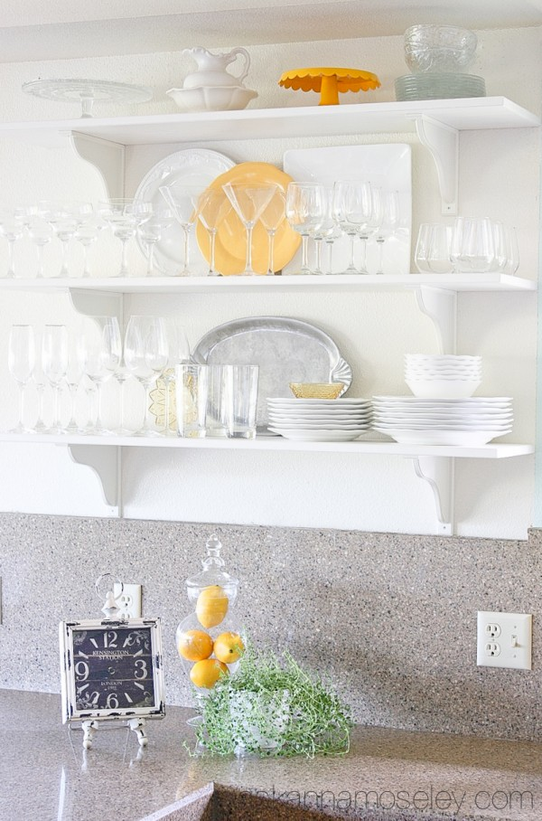 Open shelving in the kitchen - Ask Anna