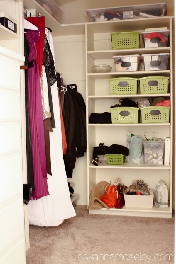 Closet organization - Ask Anna