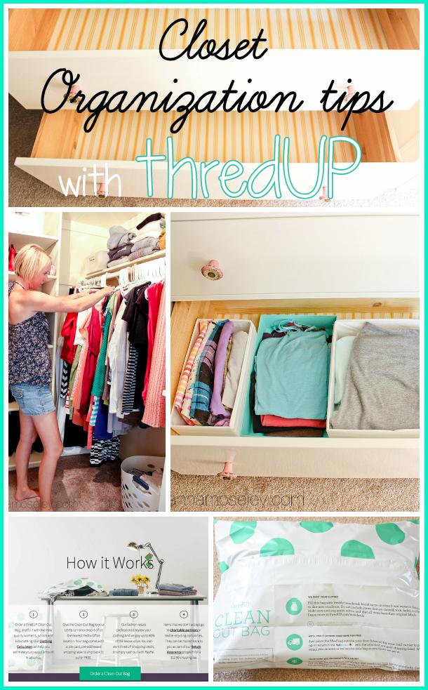 Closet organization tips with thredUP - Ask Anna
