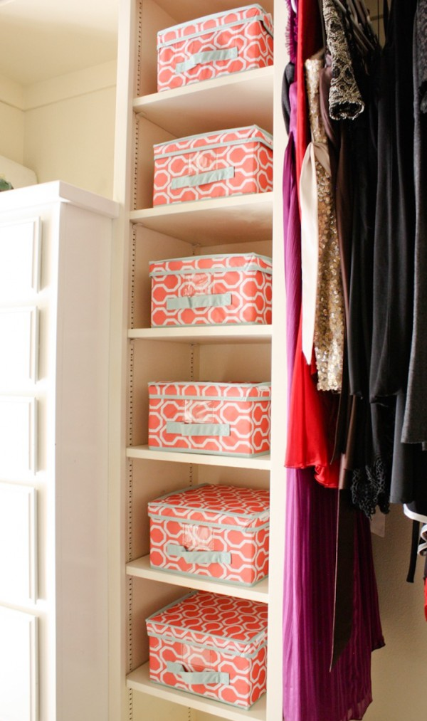 Organizing while you spring clean