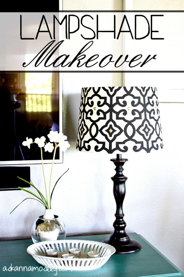 Better Homes and Gardens lampshade makeover - Ask Anna