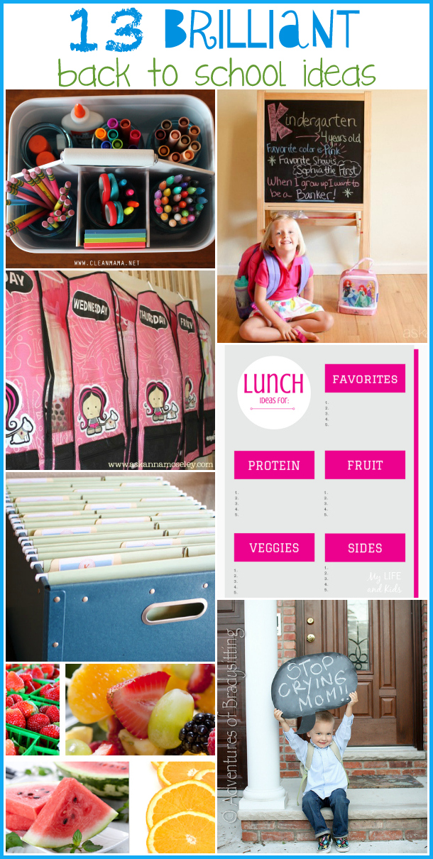 13 brilliant back to school ideas - Ask Anna