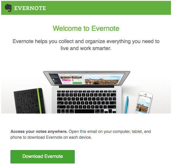 Evernote, take your notes with you