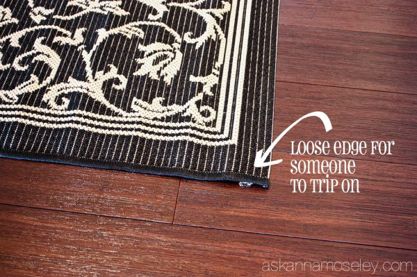 How to keep a rug from slipping - Ask Anna
