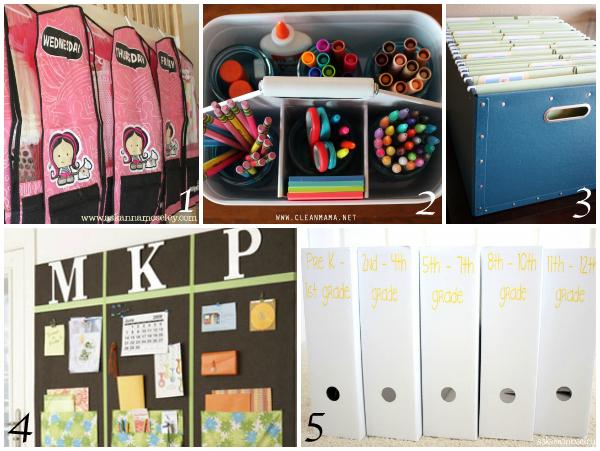 School organization ideas - Ask Anna