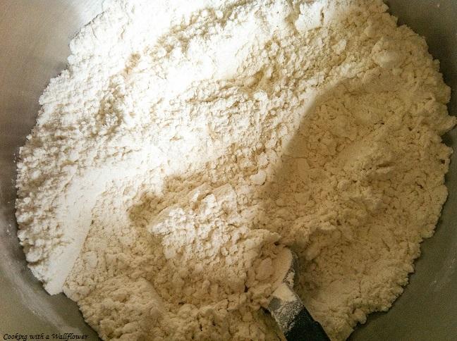 Flour and Baking Soda Mixed