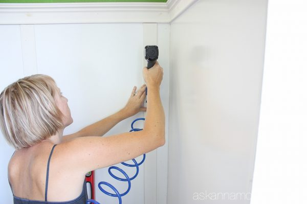 Board and batten tutorial - Ask Anna