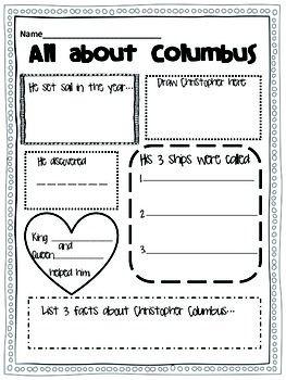Columbus Day fact sheet
