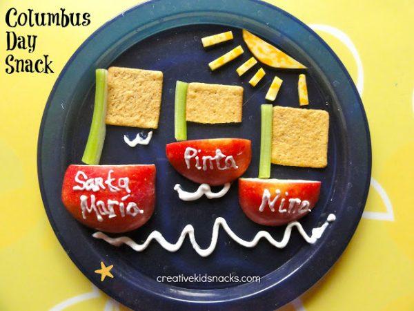 Columbus Day snack