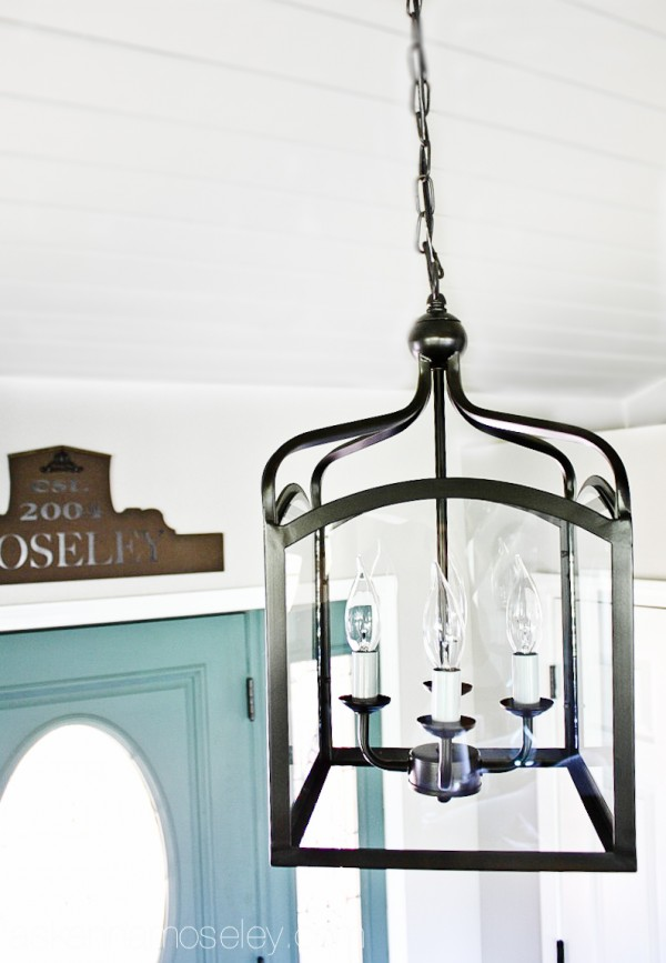 Entryway light from Overstock.com - Ask Anna