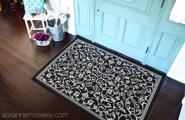 Entryway makeover with BHG products available at Walmart