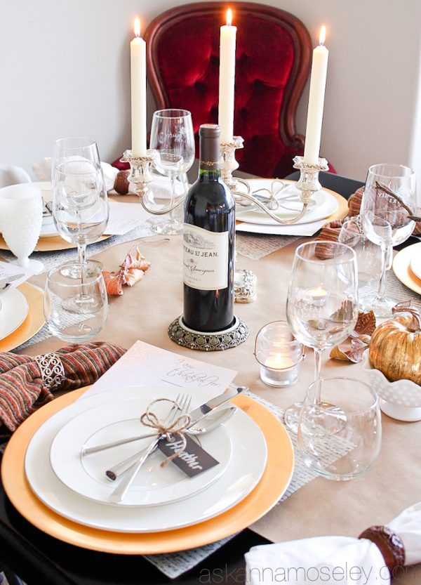 Holiday table setting tips and ideas - Ask Anna