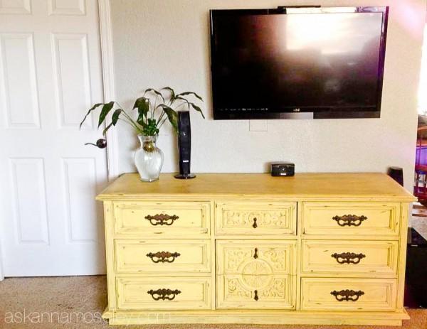 TV console organization - Ask Anna