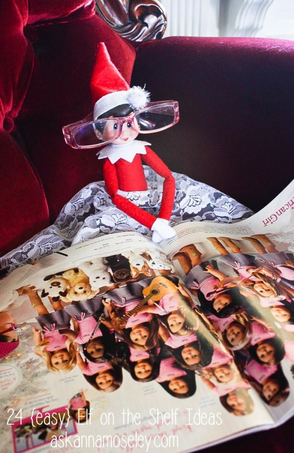 24 {easy} Elf on the Shelf ideas - Ask Anna
