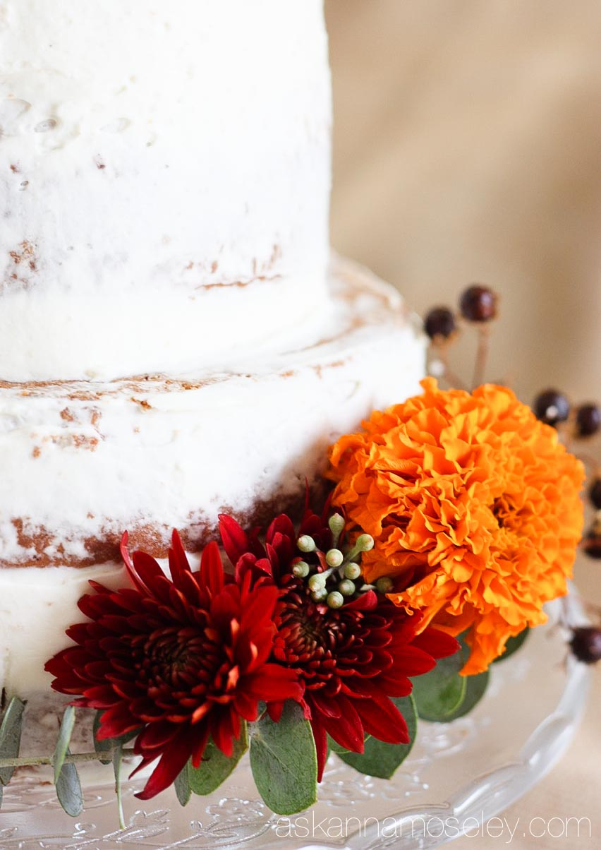 A naked cake - Ask Anna