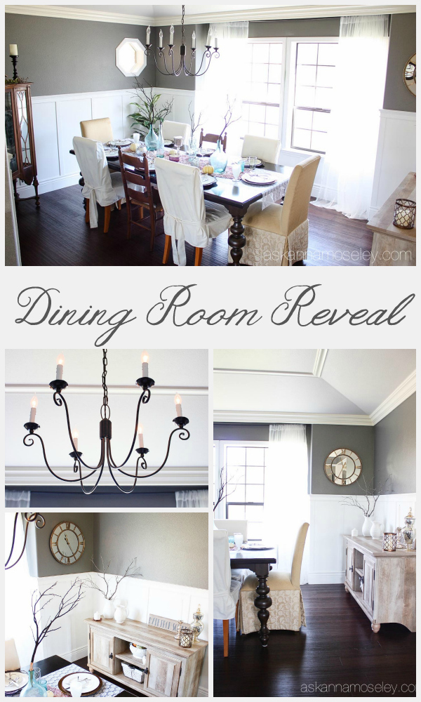 Dining room makeover - Ask Anna