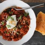 Easy crockpot chili recipe - Ask Anna