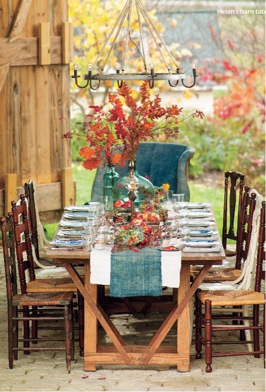 Holiday table inspiration - Ask Anna