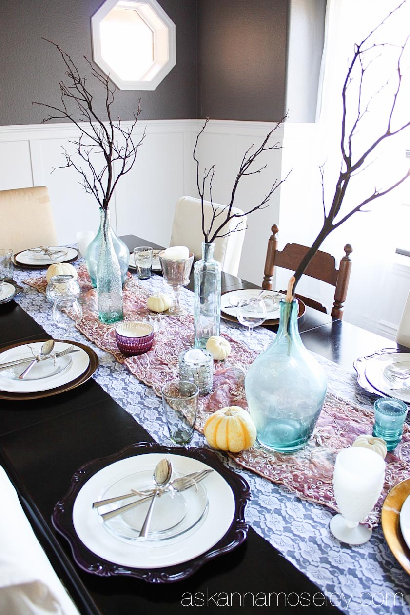 How to create a beautiful holiday tablescape - Ask Anna