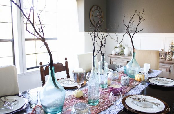 Holiday table - Ask Anna