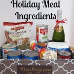 Organizing Holiday Meal Ingredients