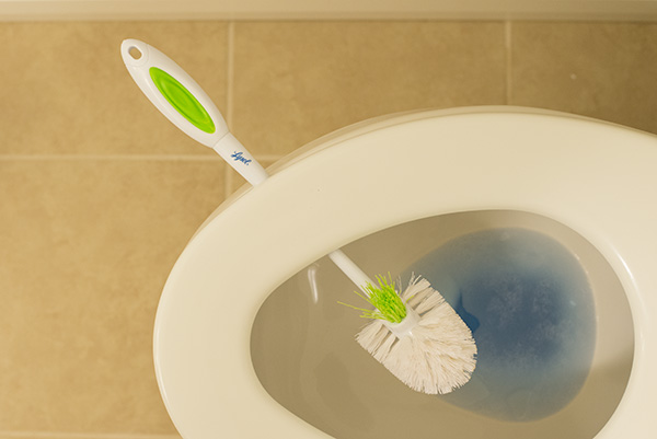Toilet cleaning tip