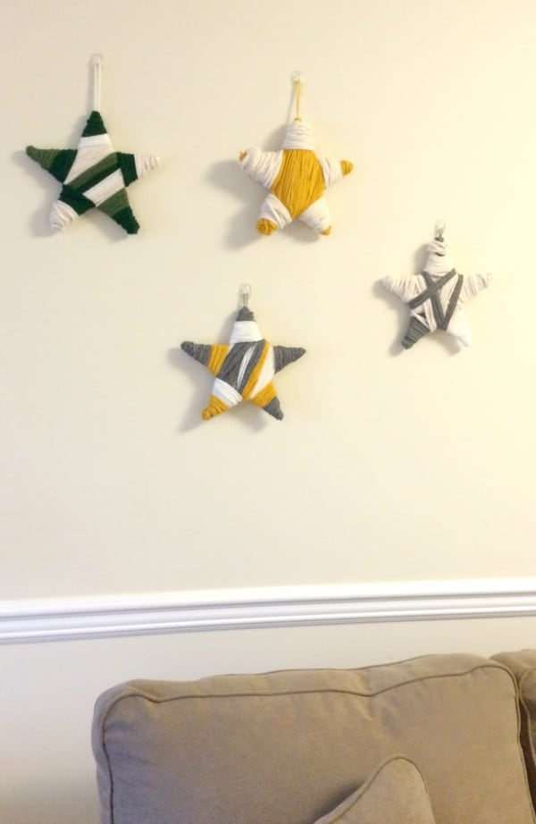 Holiday Stars Gallery Wall
