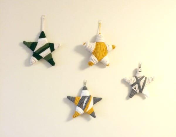 Yarn Stars Gallery Wall