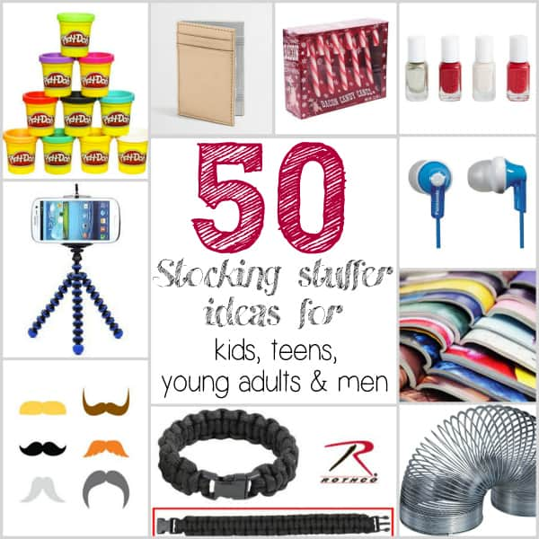 50 Stocking Stuffer ideas for Kids, Teens and Adults - Ask Anna
