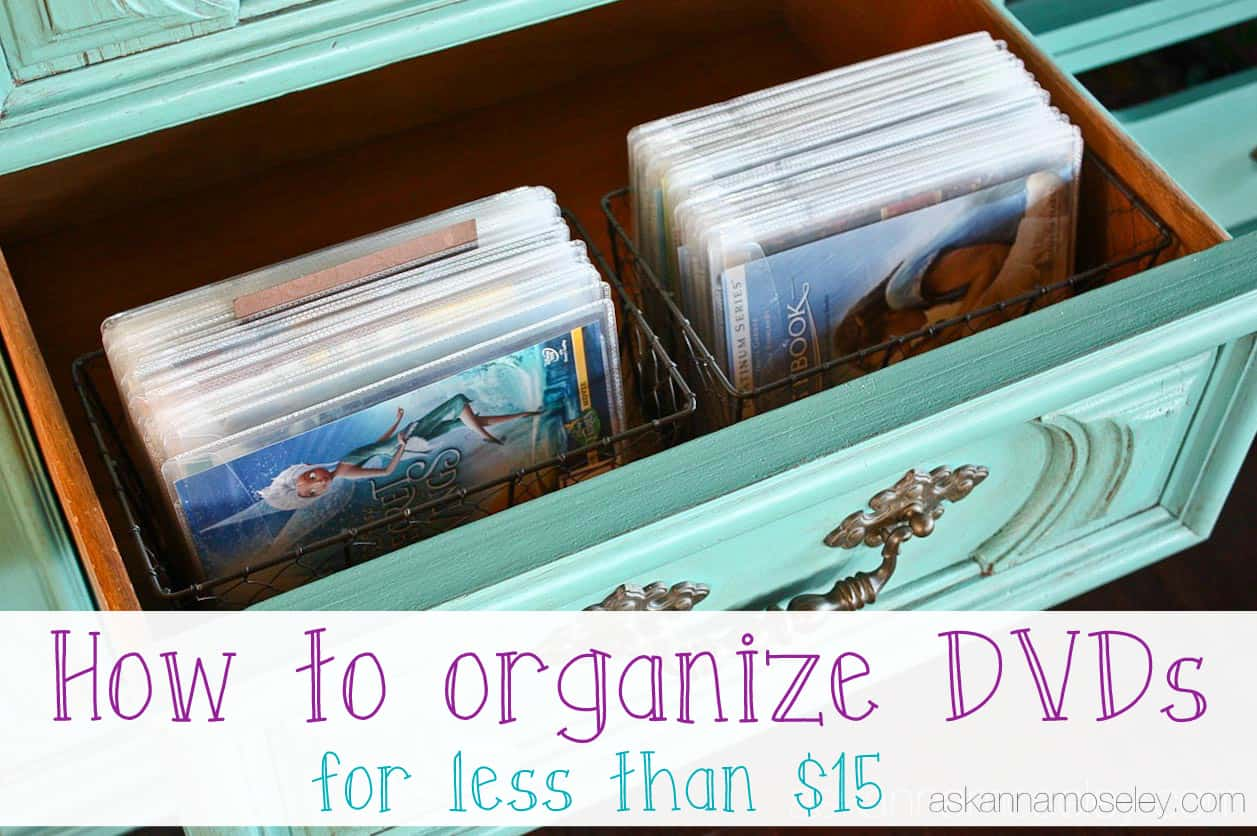 How to organize DVDs - Ask Anna